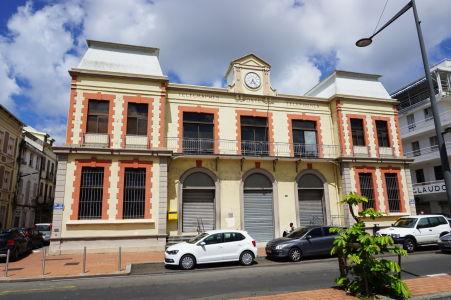 Budova pošty vo Fort-de-France