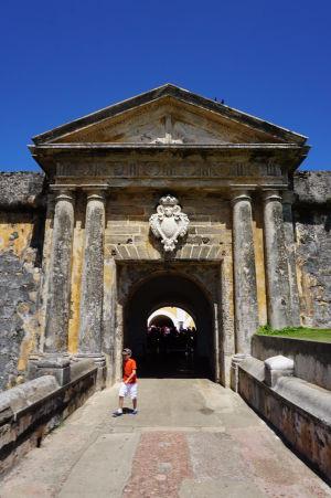 Vstupná brána do pevnosti El Morro