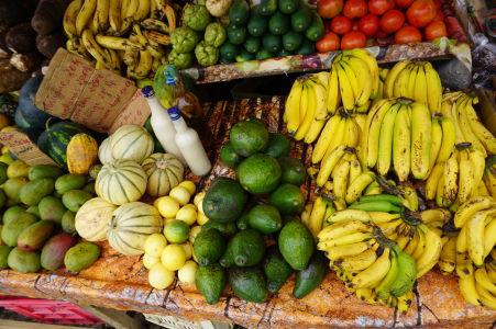 A samozrejme sa tu dá zohnať množstvo čerstvého ovocia a zeleniny
