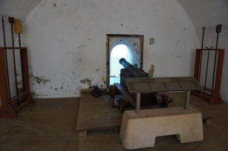 Palebná miestnosť v El Morro