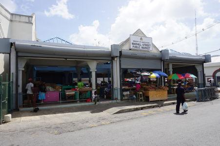 Miestna tržnica v Bridgetowne
