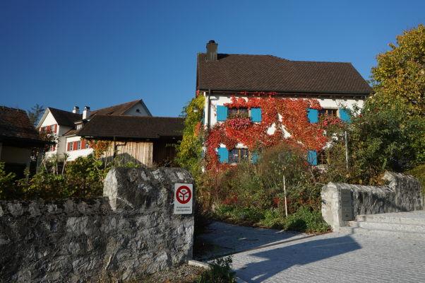 Domčeky vo Vaduze pod hradom