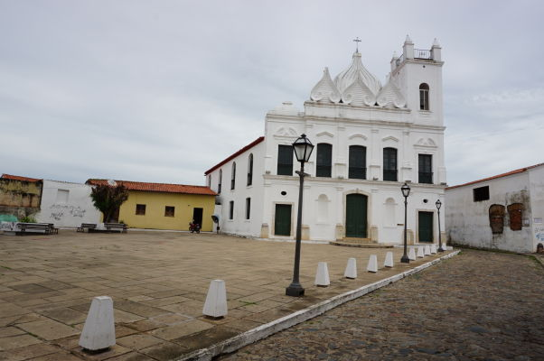 Kostol Igreja do Desterro v historickom centre São Luís