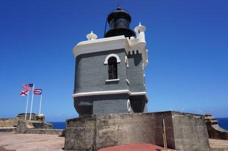 Maják v pevnosti El Morro