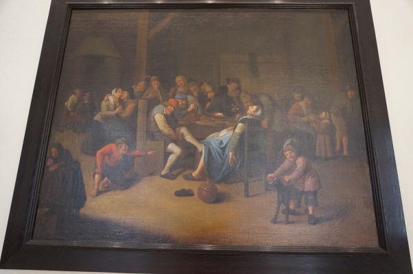 Obraz s názvom Flámske orgie - Múzeum umenia a histórie baróna Gérarda (MAHB) v Bayeux