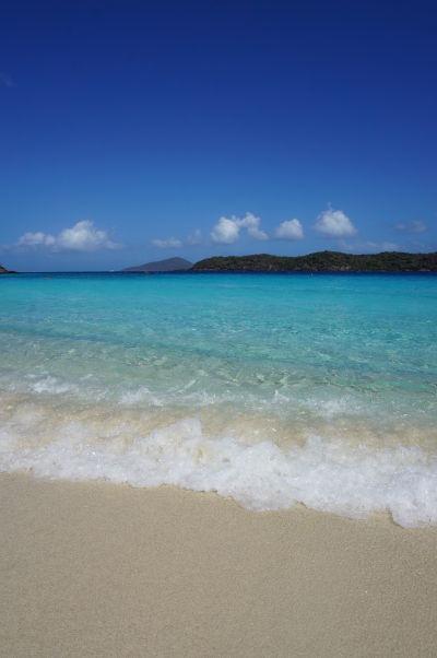 Pláž Coki Beach na ostrove Svätý Tomáš