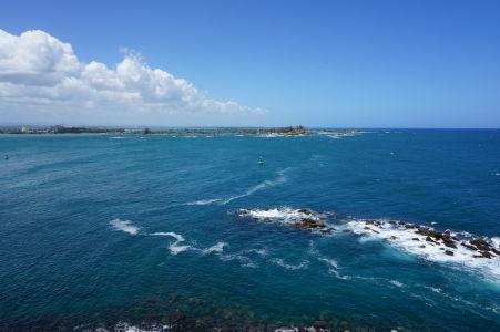 Výhľad na záliv v San Juane