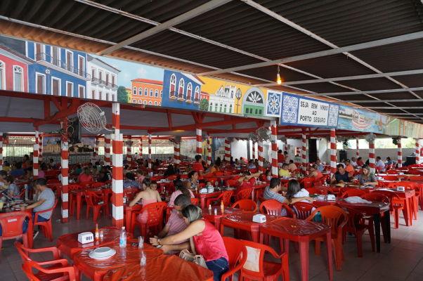 Reštaurácie pri rybom trhu v São Luís