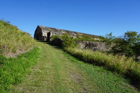 Prístupová cesta k Skladovej bašte
