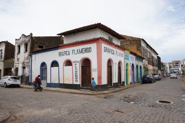 Ulice v okolí historického centra São Luís