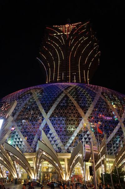 Kasíno Grand Lisboa v Macau