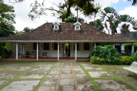 Vstup do botanickej záhrady Jardin de Balata na Martiniku