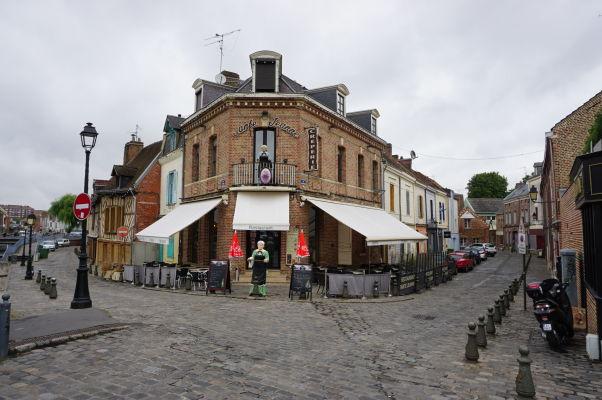 Palacinkáreň s výhľadom priamo na Katedrálu v Amiens