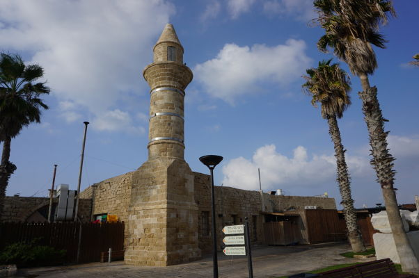 Mešita postavená Bosniakmi v 19. storočí v Caesarei