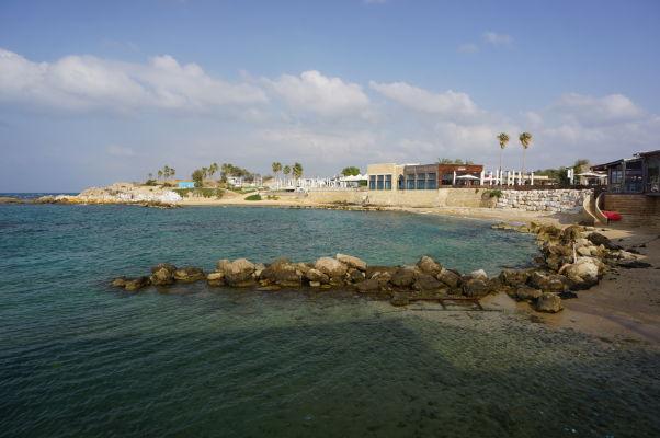 Zvyšky prístavu v Caesarei