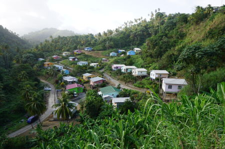 Dedinská idylka na ostrove Svätý Vincent