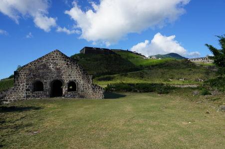 Zrekonštruovaný sklad a citadela