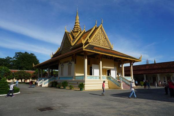 Pavilón Phochani (Tanečná hala) v Kráľovskom paláci v Phnom Penhu