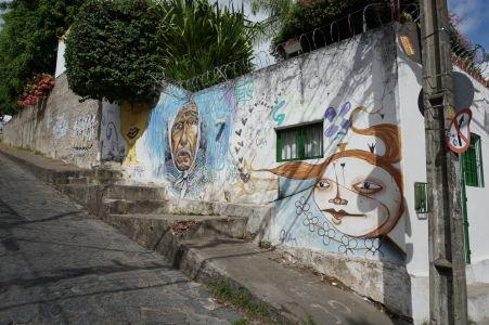 Graffiti v Olinde