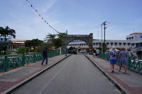Most Chamberlain Bridge, historický monument, ktorému vďačí mesto za svoje meno
