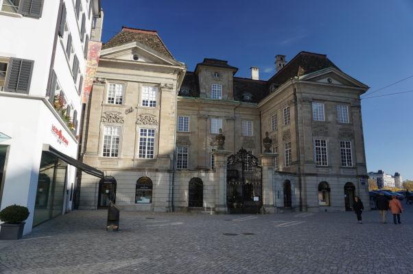 Mestský dom (Stadthaus) v Zürichu