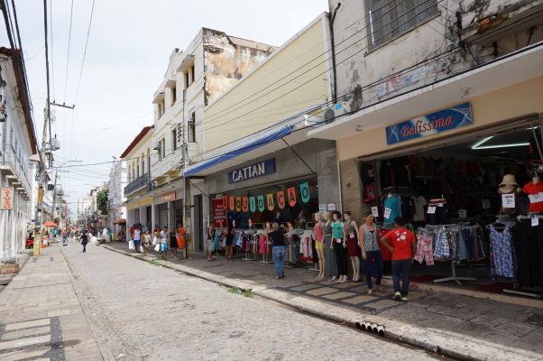 Nákupná ulica Rua Grande v São Luís