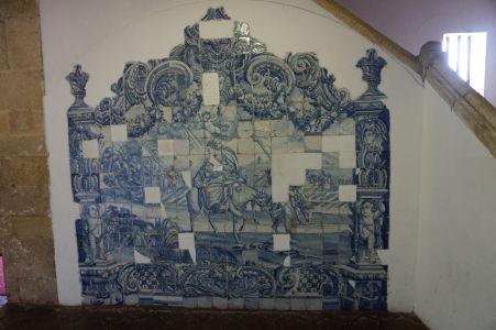 Katedrála v Olinde - azulejos