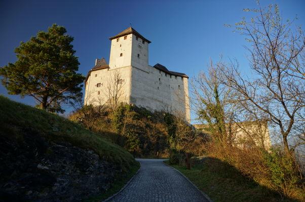 Hrad Gutenberg v Balzers