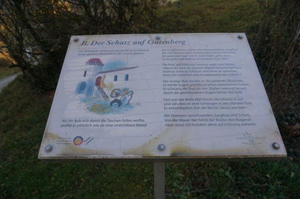 Chodníčky v Balzers sú lemované rôznymi príbehmi a povesťami