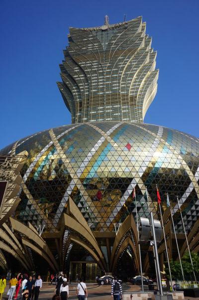 Kasíno hotel Grand Lisboa v Macau