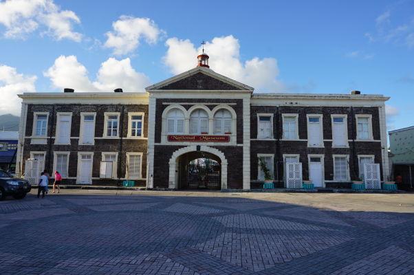 Národné múzeum v Basseterre, hlavnom meste Sv. Krištofa