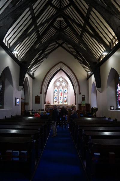Kostol sv. Augustína v severoírskom Londonderry a pravdepodobné miesto založenia pôvodného Kláštora sv. Kolumbu, považvaného za založenie samotného mesta