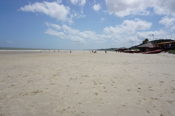 Pláž v São Luís