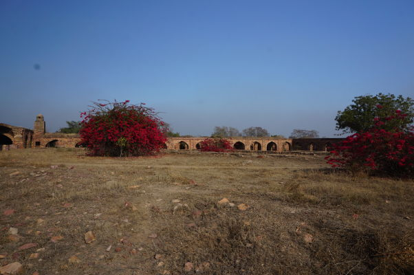 Areál bývalej kráľovskej mincovne vo Fatehpur Sikri