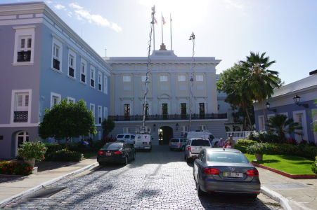 Rezidencia guvernérov Portorika - La Fortaleza