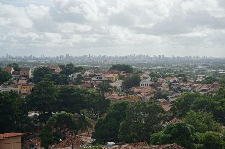 Koloniálna architektúra Olindy a moderná architektúra Recife