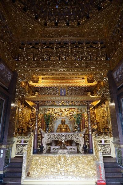 Chrám Shouzhen v Ališane