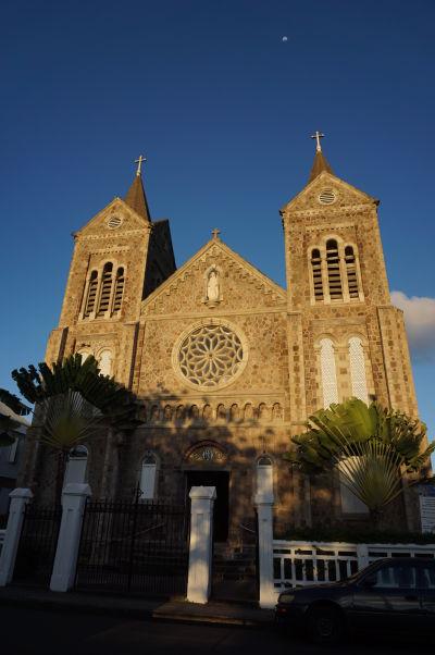 Katedrála Nepoškvrneného Počatia v Basseterre, hlavnom meste Sv. Krištofa