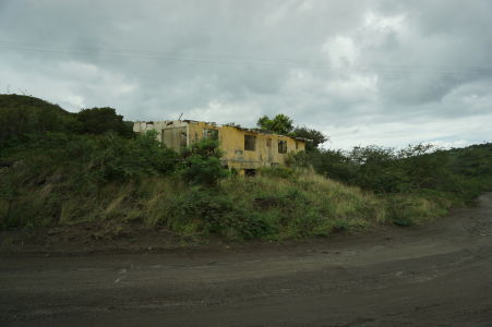 Ruiny domu v hlavnom meste