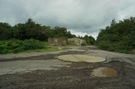 Tento kruhový objazd bol kedysi dôležitým dopravným uzlom pri príjazde do mesta