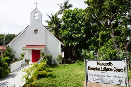 Kostol v Cruz Bay - Obyvatelia Karibiku sú hlboko veriaci