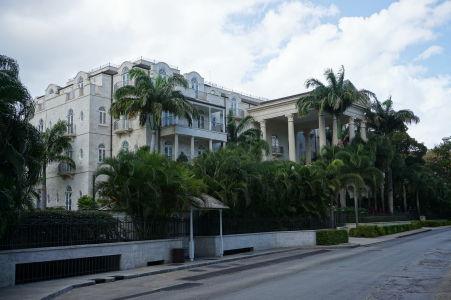 Honosný dom speváčky Rihanny na Barbadose
