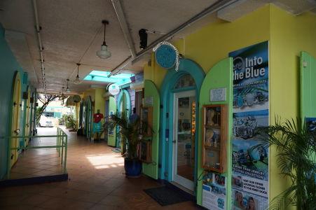 Nákupné centrum v Cruz Bay