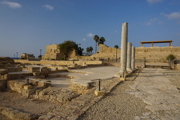 Pozostatky rímskej vily v Caesarei