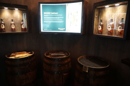 Múzeum v rumovej distilérke Bacardi