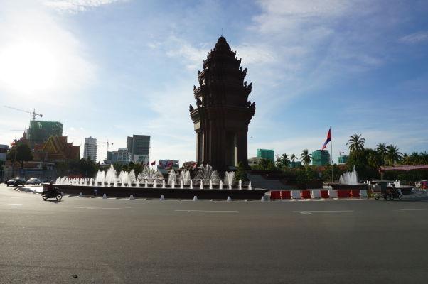 Monument nezávislosti v Phnom Penhu