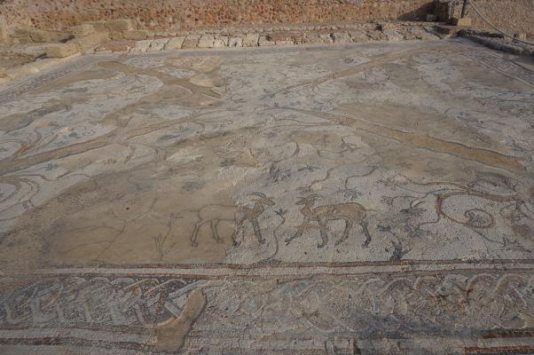 Mozaika v rímskej vile v Caesarei