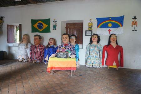 Trhovisko Ribeira - Figuríny pre karneval