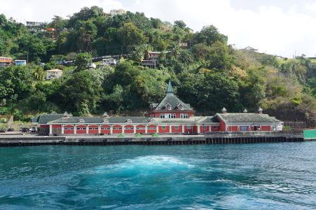 Prístav na ostrove Svätý Vincent