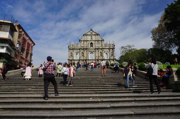 Ruiny Chrámu sv. Pavla v Macau